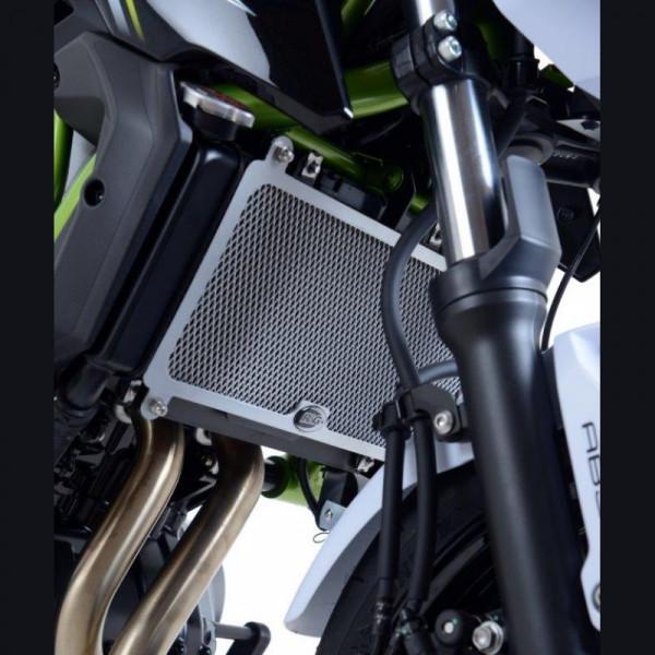 R&G Racing Kühlergitter Wasserkühler Kawasaki Z 650 / Ninja 650 2017-