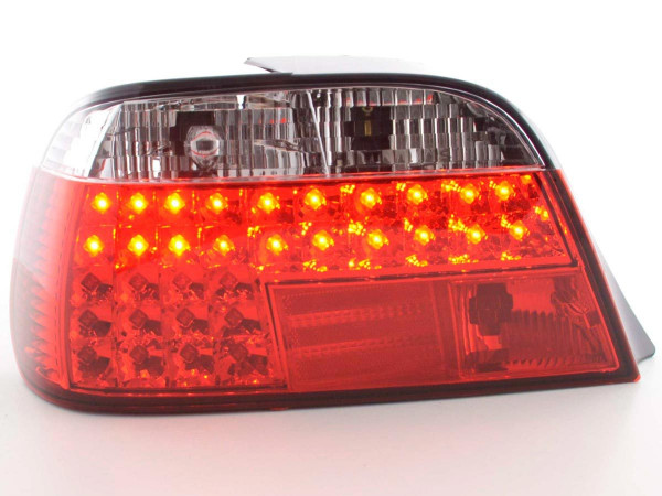 LED Rückleuchten Set BMW 7er Typ E38 Bj. 95- rot/klar