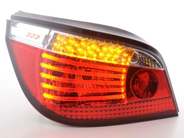 LED Rückleuchten Set BMW 5er Limousine Typ E60 Bj. 03- klar/rot