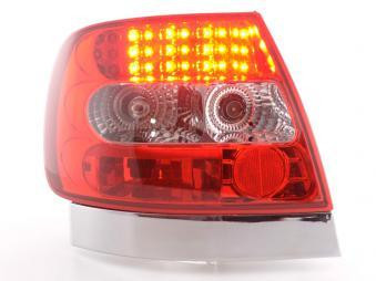 LED Rückleuchten Set Audi A4 Limousine Typ B5 95-00 klar/rot S4 / TDI