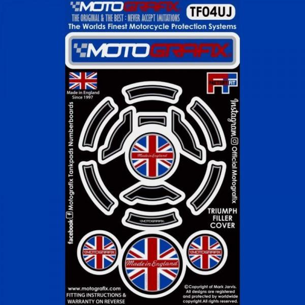 Motografix Tankdeckel Protektor Triumph Modelle TF04UJ