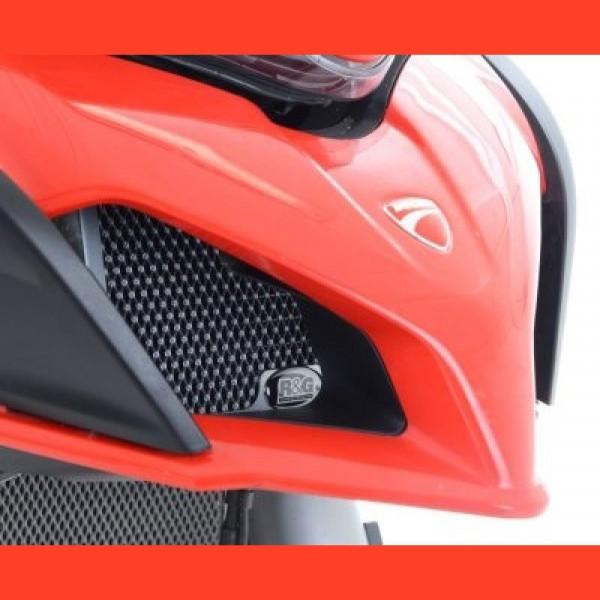 R&G Kühlergitter Ölkühler Ducati Multistrada 950 / 1200 / 1260 2015- / Enduro 2016-