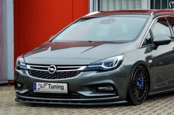 Cup Frontspoilerlippe für Opel Astra K 5 türer + Sportstourer ab Bj. 2015-2019