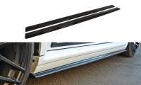 Seitenschweller Ansatz Passend Für AUDI RS4 B5 Schwarz Matt