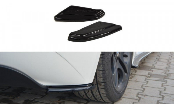 Heck Ansatz Flaps Diffusor Passend Für BMW Z4 E85 / E86 Vor Facelift Carbon Look