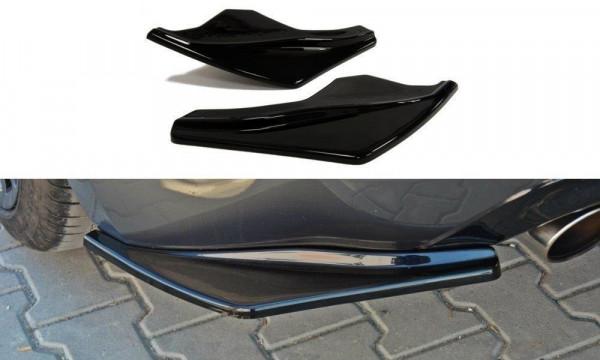 Heck Ansatz Flaps Diffusor Passend Für Nissan 370Z Schwarz Matt