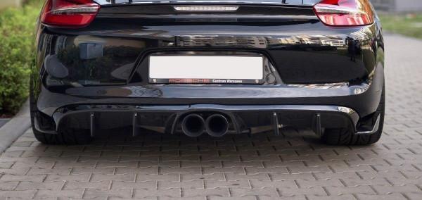 Diffusor Heck Ansatz Für Porsche Cayman Mk2 981C