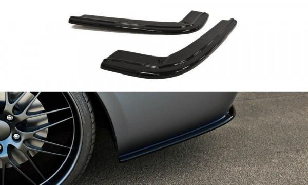 Heck Ansatz Flaps Diffusor Passend Für BMW 3er E92 M Paket Carbon Look