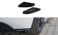 Heck Ansatz Flaps Diffusor Passend Für BMW Z4 E85 / E86 Vor Facelift Schwarz Hochglanz