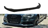 Front Ansatz Passend Für V.1 Audi S6 / A6 S-Line C7 Carbon Look