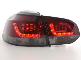 LED Rückleuchten Set VW Golf 6 Typ 1K Bj. 2008-2012 rot/schwarz
