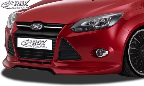 Frontlippe Front Ansatz Vorne Spoilerlippe 2016+ RDX Frontspoiler VARIO-X Focus 3 RS
