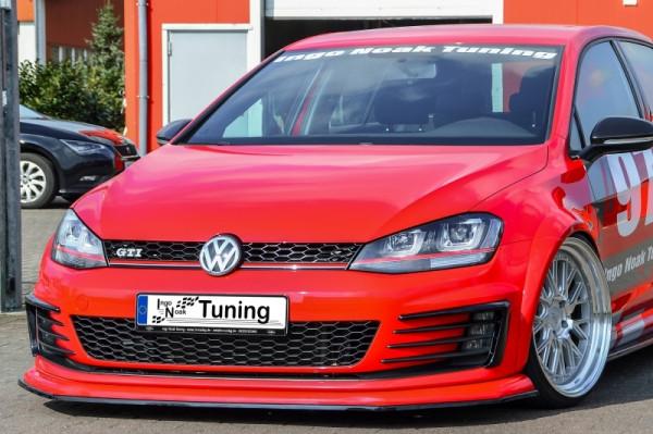 Cup Frontspoilerlippe für VW Golf 7 GTI + GTD AU Bj. 2013-2017