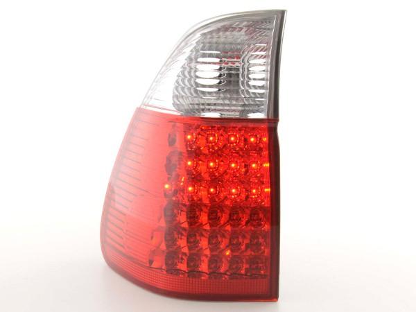 Led Rückleuchten BMW X5 Typ E53 Bj. 04- klar/rot