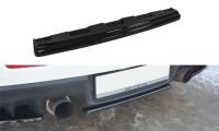 Mittlerer Diffusor Heck Ansatz Passend Für Mitsubishi Lancer Evo X Schwarz Matt