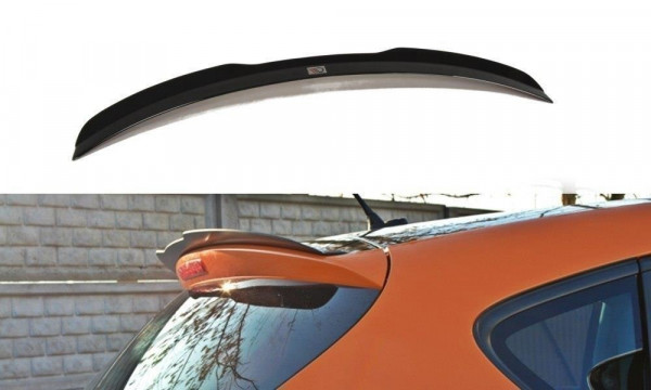 Spoiler CAP Passend Für SEAT LEON MK2 CUPRA / FR Facelift Carbon Look