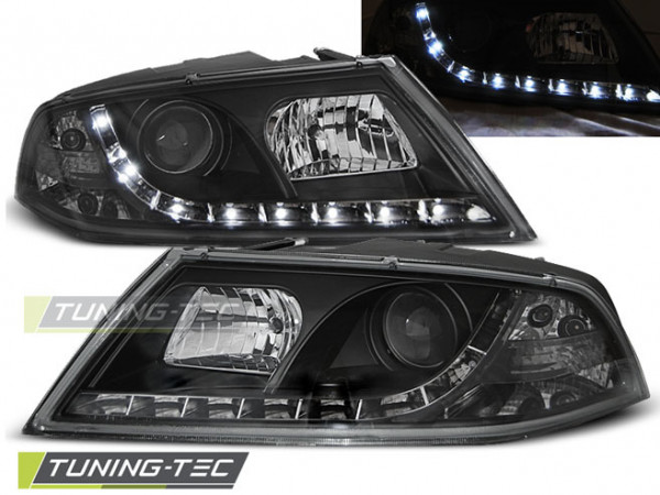 Xenon Scheinwerfer Tageslicht schwarz passend für Skoda Octavia 2 03.04-08