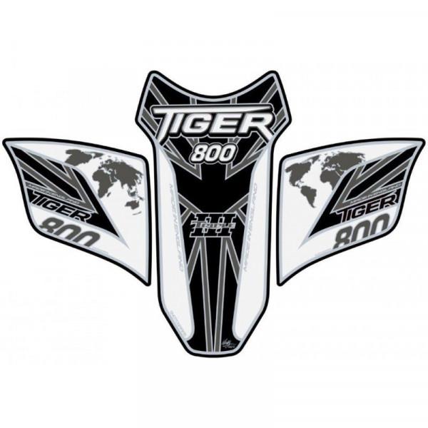 Motografix Triumph Tiger 800 3D Gel Tank Pad Protector TT029WKUJ
