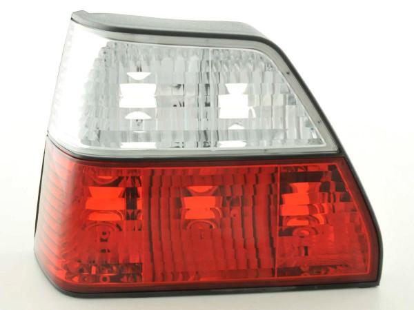 Rückleuchten Set VW Golf 2 Typ 19E Bj. 84-91 rot/weiß