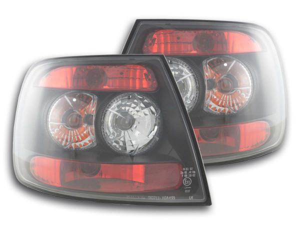 Rückleuchten Set Audi A4 Limo Typ B5 Bj. 95-00 schwarz