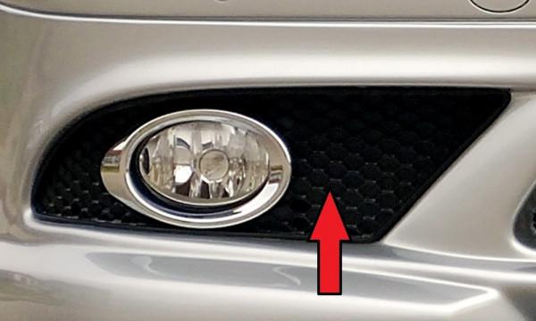 Gitter rechts orig. SL (R230) für Mercedes CLK (W209) Cabrio 00.02-06.04 (bis Facelift / bis Modell
