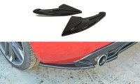 Heck Ansatz Flaps Diffusor Passend Für PEUGEOT 308 II GTI Carbon Look