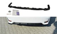 Mittlerer Diffusor Heck Ansatz Passend Für Lexus CT Mk1 Facelift Carbon Look