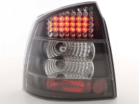LED Rückleuchten Set Opel Astra G 3/5-trg 98-03 schwarz
