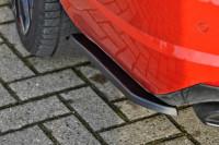Heckansatz Seitenteile für Skoda Octavia RS 5E ab Bj.2016- Ausführung: Matt schwarz