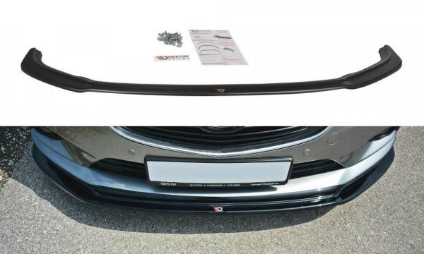 Front Ansatz Passend Für V.1 Mazda 6 GJ (Mk3) Schwarz Hochglanz