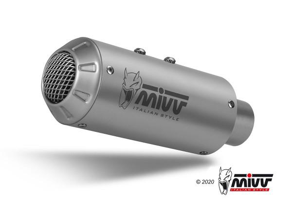 MIVV MK3 Edelstahl KTM 790 DUKE GT 18-/890 DUKE 20-21