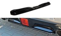 Mittlerer Diffusor Heck Ansatz Passend Für Nissan 370Z Schwarz Hochglanz