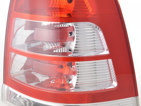 Verschleißteile Rückleuchte rechts Opel Zafira Typ B Bj. 08- rot/klar