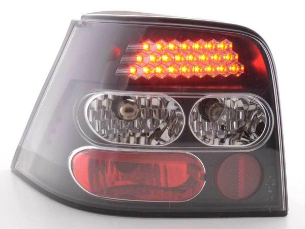 LED Rückleuchten Set VW Golf 4 Typ 1J Bj. 98-02 schwarz