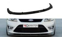 Front Ansatz Passend Für Ford Focus ST Mk2 FL Carbon Look