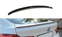Spoiler CAP Passend Für BMW X4 M Paket Schwarz Hochglanz