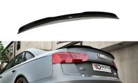 Spoiler CAP Passend Für AUDI A6 C7 S-LINE SEDAN Carbon Look