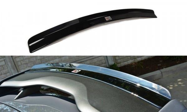 Spoiler CAP Passend Für V.1 Ford Focus RS Mk3 Schwarz Hochglanz