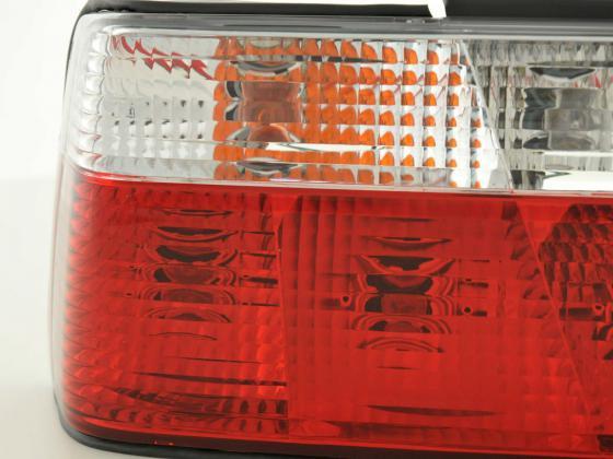 Rückleuchten Set BMW 3er Limo Typ E36 Bj. 91-98 rot/weiß