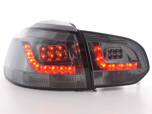 LED Rückleuchten Set VW Golf 6 Typ 1K 2008-2012 schwarz