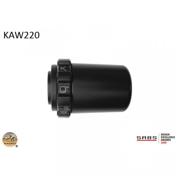 "Kaoko Gasgriff-Arretierung ""Drive Control"" für Kawasaki ZZR1400 ABS SE, ZX-14R"