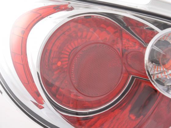 Rückleuchten Set Peugeot 206 Bj. 98 - chrom