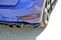 Hintere Nebelleuchten Abdeckung Für Für VW GOLF 7 R Facelift Schwarz Hochglanz