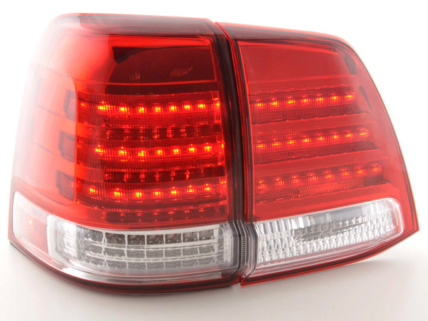 LED Rückleuchten Set Toyota Land Cruiser Typ FJ200 Bj. 07-08 chrom