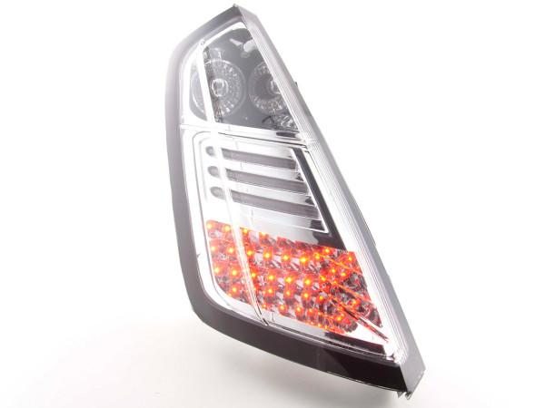 LED Rückleuchten Set Fiat Grande Punto Typ 199 Bj. 05- chrom