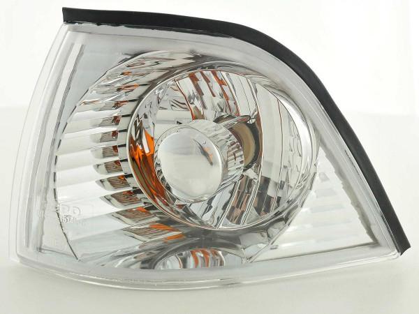 Frontblinker Blinker Set BMW 3er Coupe/Cabrio Typ E36 91-98 chrom