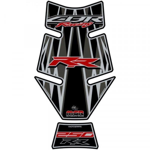 Honda CBR 250 RR Motografix 3D Gel Tank Pad Protector TH027KGR