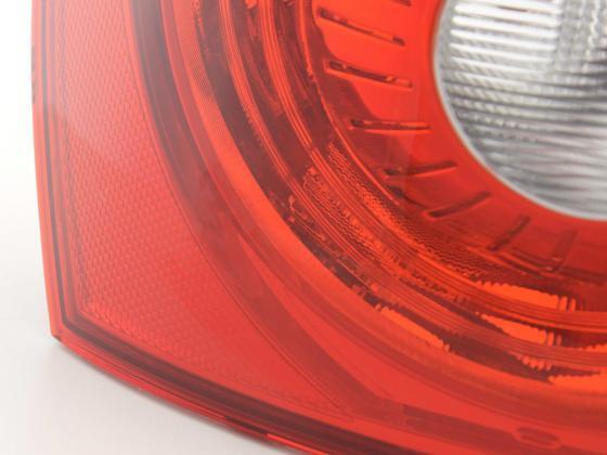 Zubehör Rückleuchte links Seat Ibiza 5-trg. Typ 6J Bj. 08- rot/klar