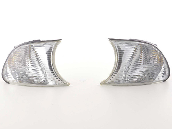 Frontblinker Blinker Set BMW 3er Coupe/Cabrio (Typ E46) 98-01 clear
