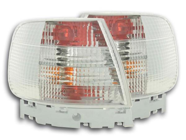 Rückleuchten Audi A4 Limo Typ B5 Bj. 95-00 weiß